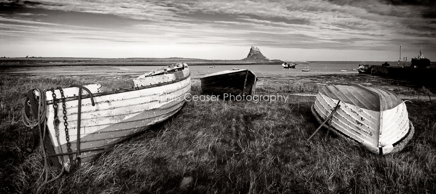 Cobles and Castles, Holy Island
