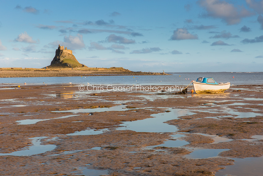 The Lone Boat, Holy Island
