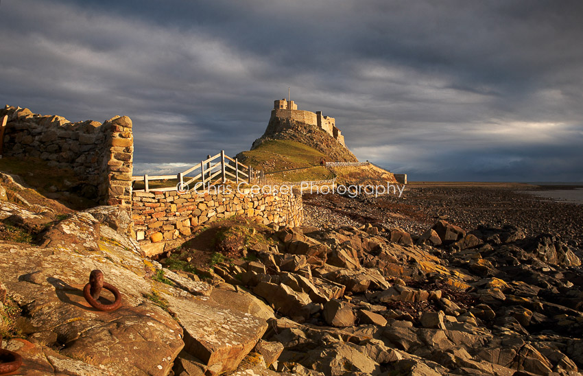 Passing Storm, Holy Island