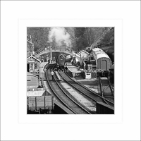 card SQ20 - THE RAILWAY