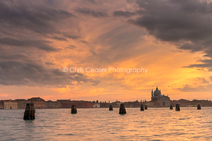 Sunset Over Il Redentore, Venice