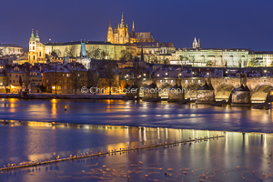 Night By The River, Prague