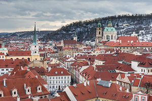 Mala Strana In Winter, Prague