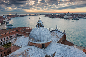Dusk Over The Lagoon, Venice