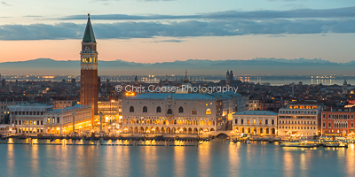 The Molo & The Doges Palace, Venice