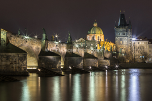 Charles Bridge Study, Prague