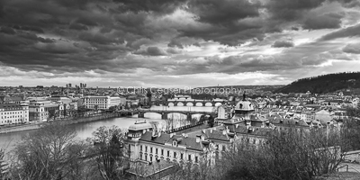 Stormclouds Over The Vltava, Prague