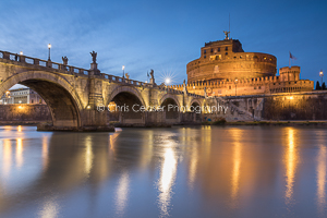 Pont Sant'Angelo, Evening Lights