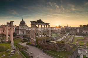 The Forum At Sunrise, Rome