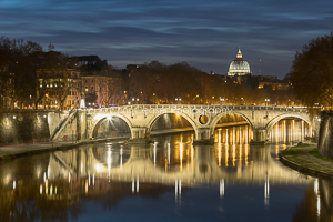 Twilight Over The Tiber, Rome