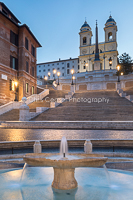 Dawn, The Spanish Steps