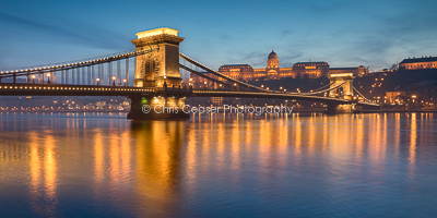 Spanning The Danube, Budapest
