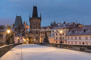 Into Mala Strana, Charles Bridge