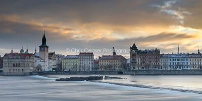 Banks Of The Vltava, Sunrise