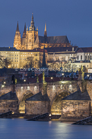 Charles Bridge and St. Vitus Cathedral