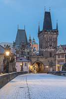 Winter Chill, Charles Bridge
