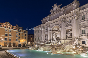 By The Trevi Fountain, Rome