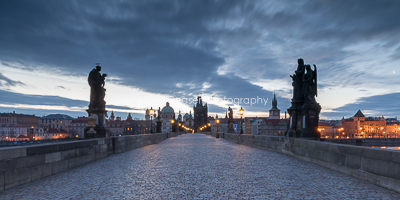 Blue Dawn, Charles Bridge
