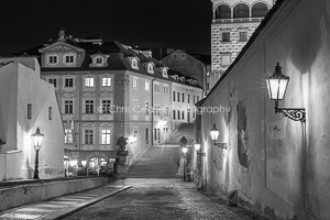 Streetlights, prague