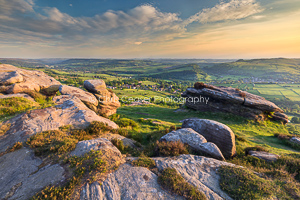 View From Curbar Edge, Peak District