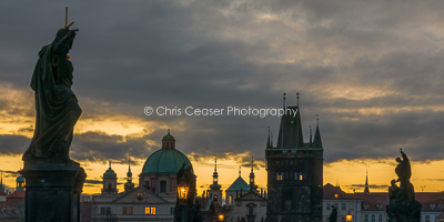 Dawn Glow, Charles Bridge