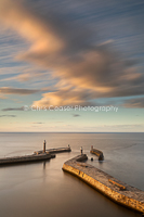 Long Exposure, Whitby Piers