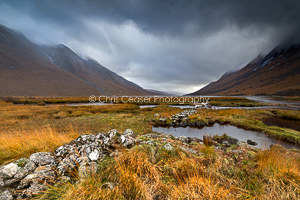 Overcast, Loch Etive