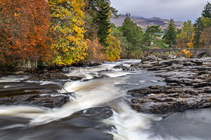 Flow, Falls Of Dochart