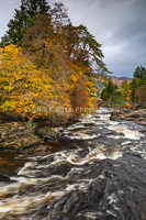 Falls Of Dochart, Autumn