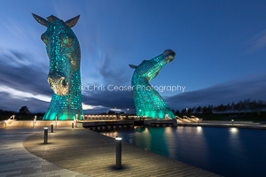 Blue, The Kelpies