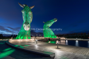 Approaching The Kelpies, Falkirk