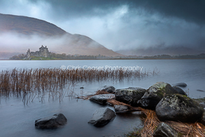 Misty Dawn, Kilchurn Castle