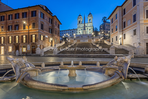 Under The Spanish Steps, Rome