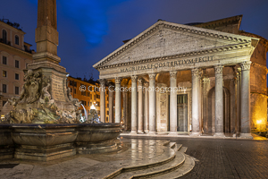 The Glory Of The Pantheon, Rome