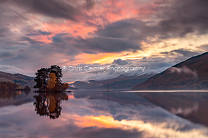 Loch Tay Sunset, Scotland