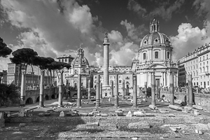Trajan's Forum, Monochrome