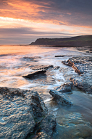 Dawn seascape, Robin Hood's Bay