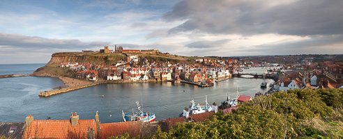 Whitby View, Yorkshire Coast