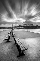 Windswept, Whitby Pier