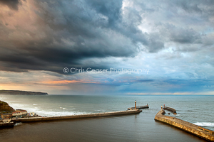 Incoming storm, Whitby