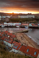 Above the old jet mines, Whitby