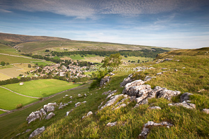 Evening Light Over Kettlewell