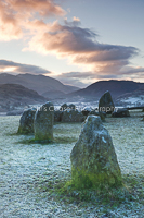 4, A new day, Castlerigg. 16x10.66 inch print, signed.