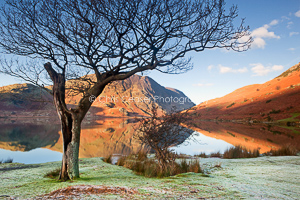 Winter's Dawn, Crummockwater