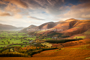 A View From Latrigg, Lake District