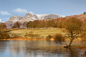 Under the Langdales, Loughrigg tarn