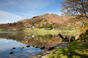 By the lakeside, Loughrigg Tarn