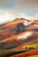 card 286 Bands Of Colour, Skiddaw