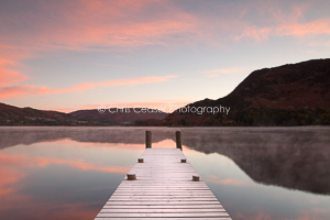 Pastel coloured dawn, Ullswater