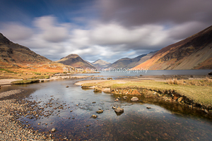 Into Wast Water, Western Lakes